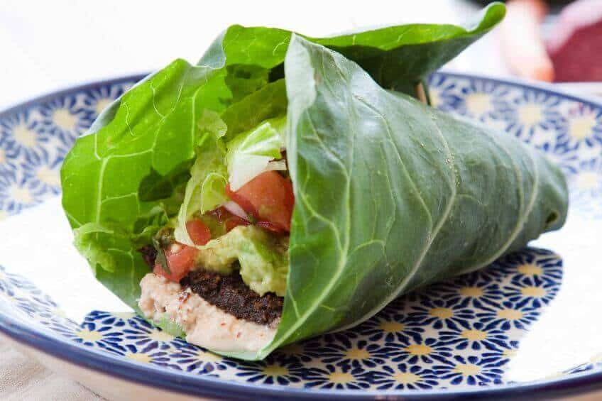 Low carb lettuce wrap