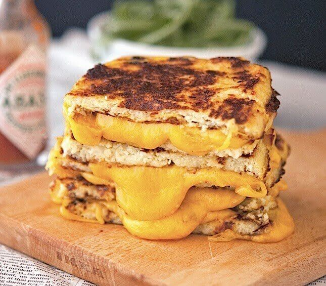 Low Carb Cheese Sandwich