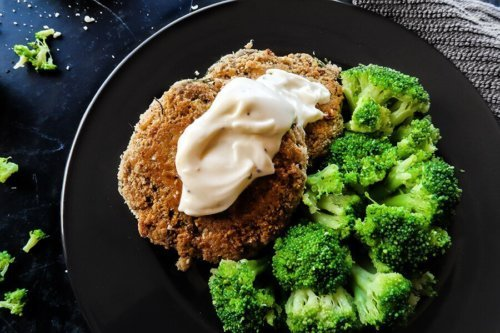 Low Carb Salmon Fish Cakes