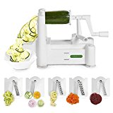 Spiralizer 5 Blade Vegetable Slicer