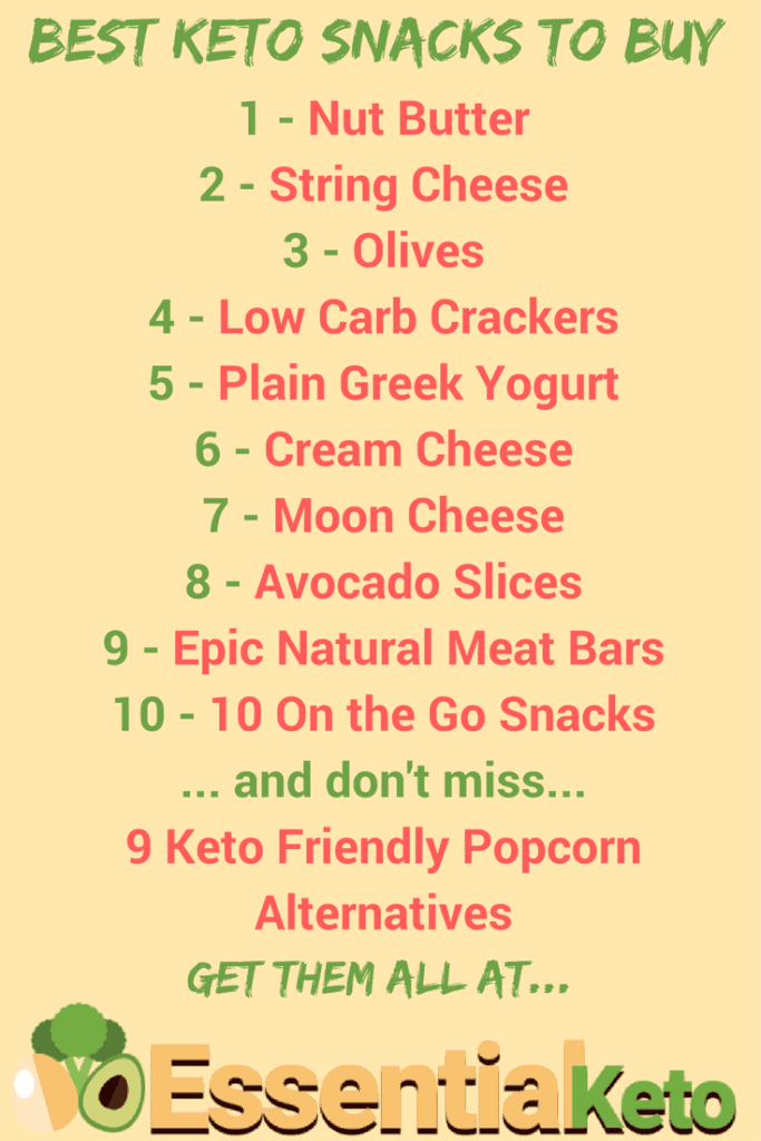 Best Keto Snacks to Buy