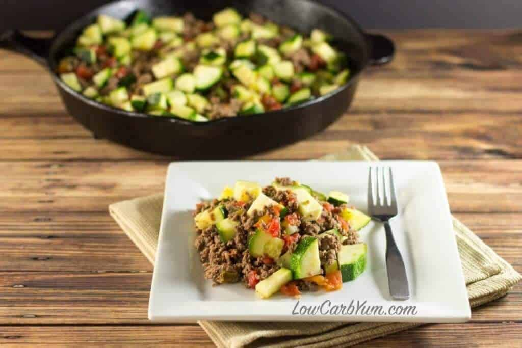Easy One Skillet Mexican Meal