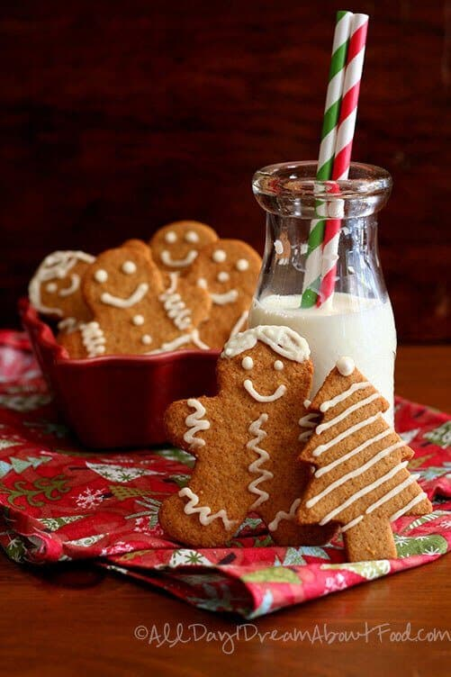 Sugar Free Gingerbread Men