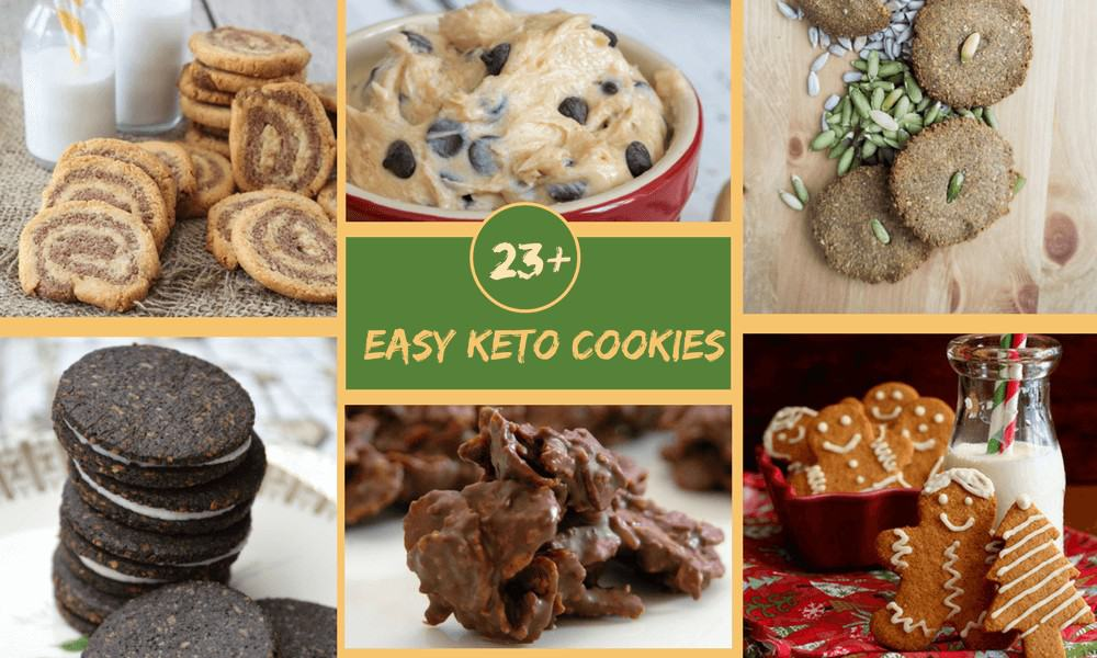 Easy Keto Cookies for the holidays