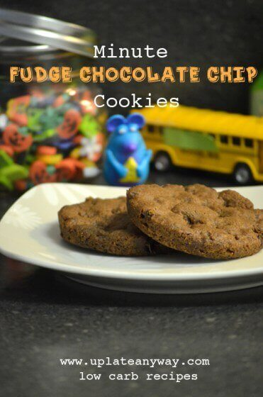 Low Carb Microwave Chocolate Fudge Cookies