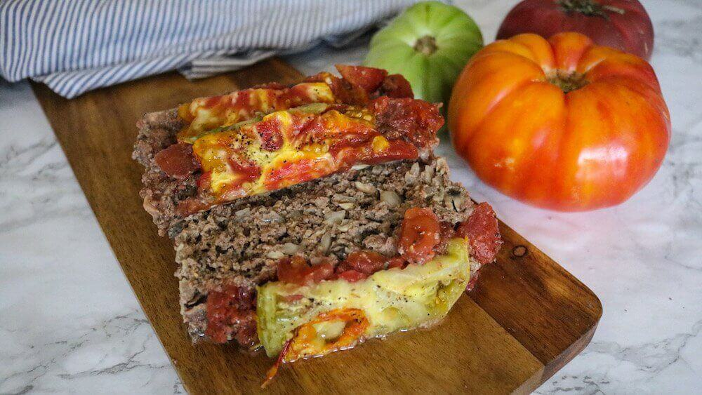 Dairy Free Paleo Meatloaf with Almond Flour