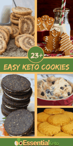 23+ Easy Keto Cookies for the Holidays