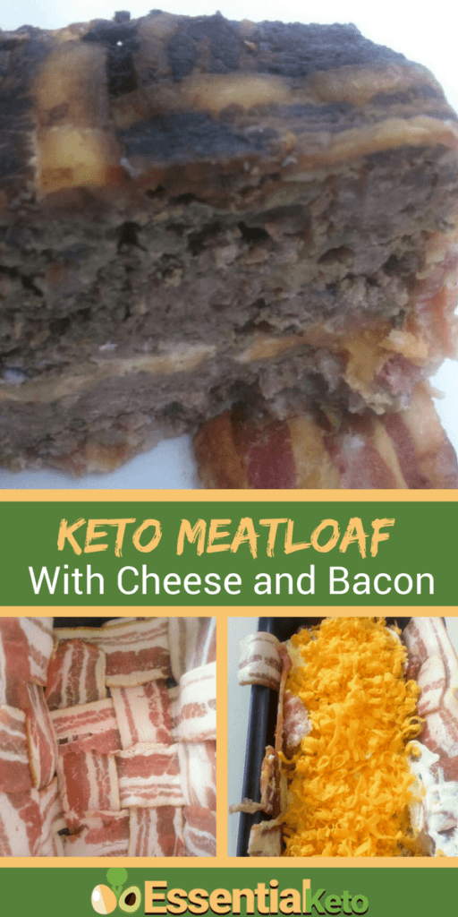 Keto Meatloaf with Bacon