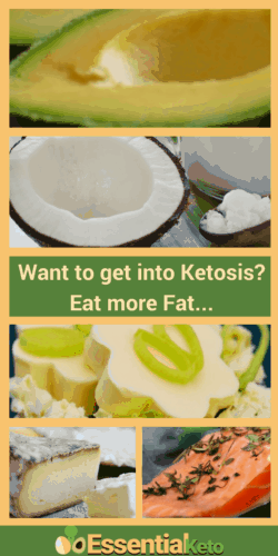 Eat more Fat to get into Ketosis