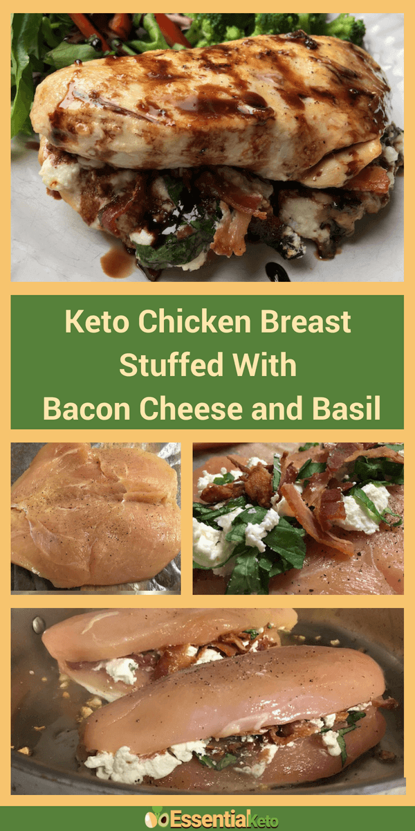 Stuffed Keto Chicken Breast
