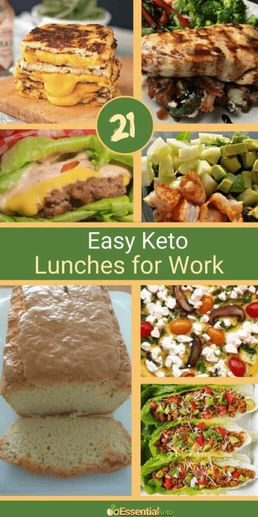 21 + keto lunch recipes and ideas for work