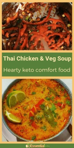 Thai Chicken Soup [Low Carb]