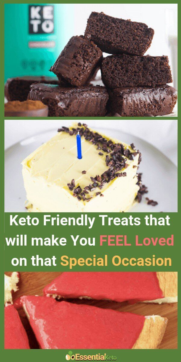 3 Keto Friendly Treats that will make you feel loved