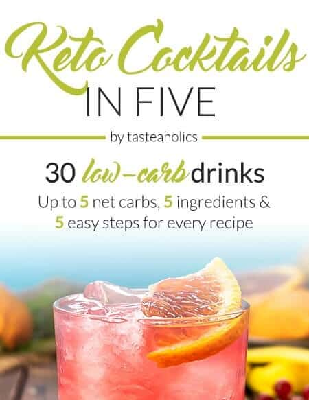 Keto in 5 Cocktails