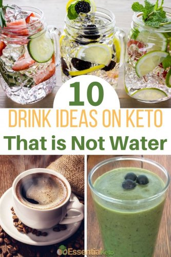 10 Drink ideas on Keto that is not water