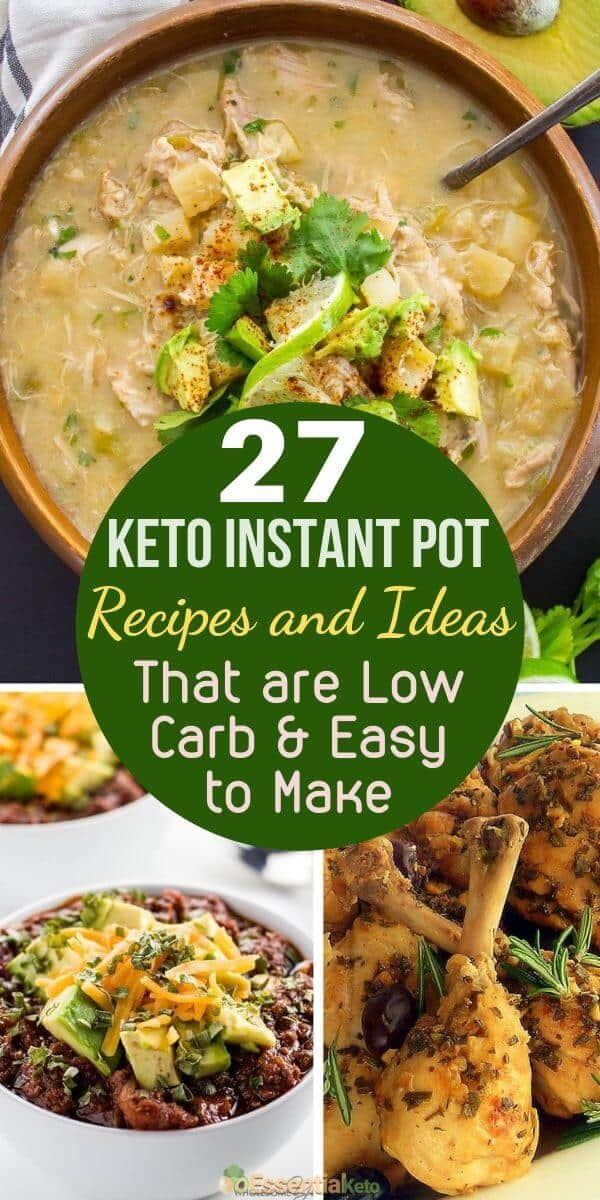 27 Keto Instant Pot Recipes that are Low Carb and Easy
