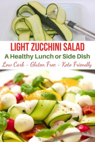Zucchini Salad Lunch or Side