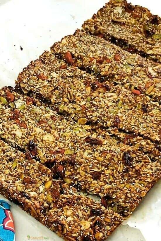 Low Carb Breakfast Bars Recipe