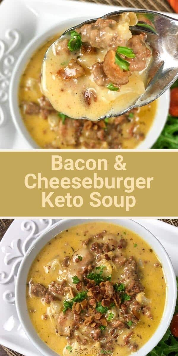 Bacon and Cheeseburger Soup