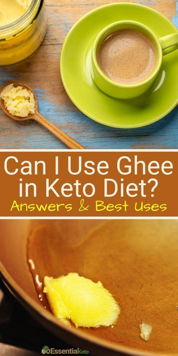 Can I use ghee in keto diet?