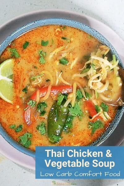 Thai Chicken & Vegetable Soup