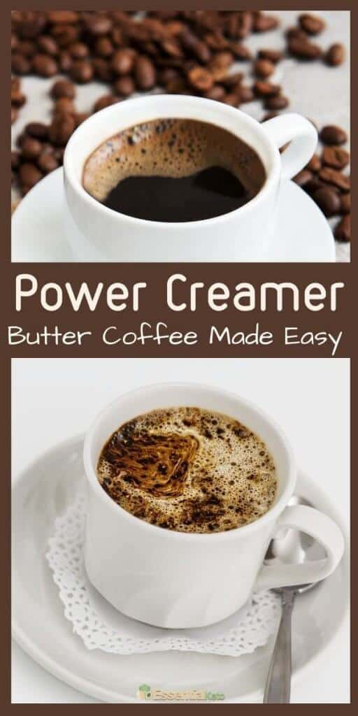Power Creamer Easy Butter Coffee